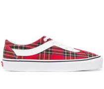 Karierte Slip-On-Sneakers