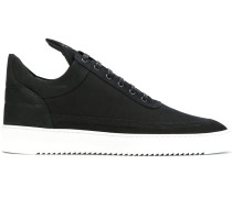 'Black Low Top Lane' Sneakers