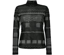 Sweatshirt mit Rollkragen - women - Polyester