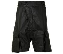 Beschichtete Cargo-Shorts