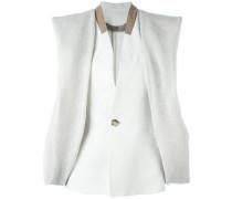 Wreathed jacket - women - Leinen/Flachs/Bemberg