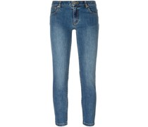 A.P.C. Halbhohe Cropped-Jeans