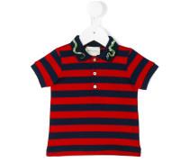 Poloshirt mit Querstreifen