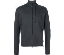 Sweatshirt mit Reißverschluss und Stehkragen