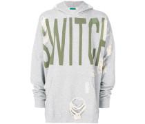 "Kapuzenpullover mit ""Switch""-Print"