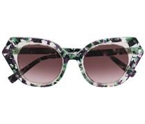 Gesprenkelte Sonnenbrille