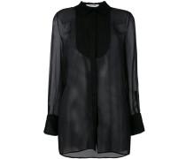 - Semi-transparente Bluse - women