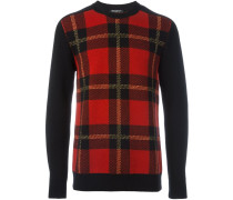 Sweatshirt mit Schottenkaromuster