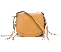 fringed 'Saddle' bag - women - Leder