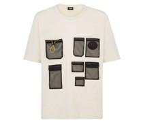 T-Shirt mit Netztasche
