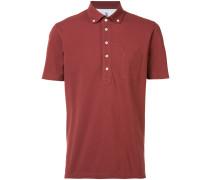 Poloshirt mit Button-Down-Kragen