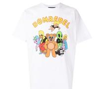"""T-Shirt mit """"Humper Peace""""-Print"""