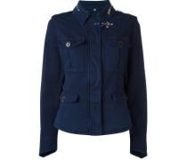 Taillierte Military-Jacke