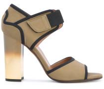 Sandalen mit Farbverlauf
