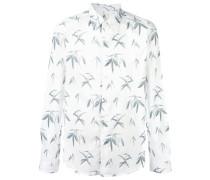 Hemd mit Palmen-Prints