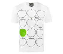 'Apples' T-Shirt mit Print