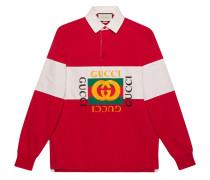 Oversized-Poloshirt mit -Logo