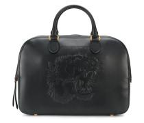 Reisetasche mit eingeprägtem Tigermotiv