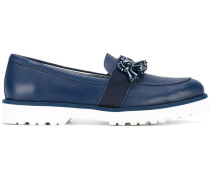Loafer mit Verzierungen - women - Leder/rubber