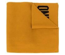 Gestrickter Intarsien-Schal
