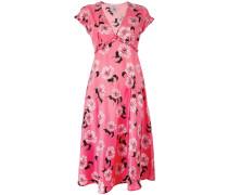 Kleid mit Blumen-Print - women - Seide/Elastan
