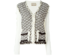 frayed cardigan