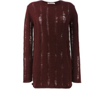 Distressed-Oversized-Pullover