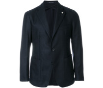 formal single-breasted blazer