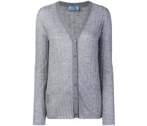 cashmere ribbed cardigans