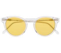 Transparente Cat-Eye-Sonnenbrille