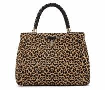 Shopper mit Leoparden-Muster