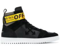 industrial strap high top sneakers