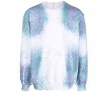 Sweatshirt mit gesprenkeltem Print
