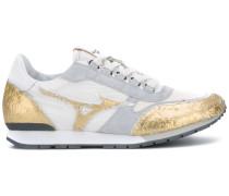 'Mizuno' Sneakers mit Metallic-Einsätzen