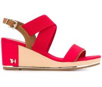 Sandalen mit TH-Monogramm