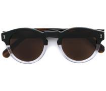 'Leonard' Sonnenbrille mit schwarz getönten Gläsern