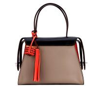tri-colour tote bag - women - Kalbsleder