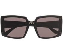 Eckige 'Shield' Sonnenbrille