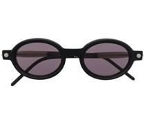 oval-frame sunglasses