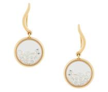 18kt gold Chivoir diamond earrings