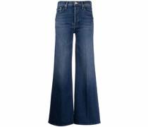 flared-leg jeans