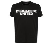 Schmales T-Shirt mit Logo