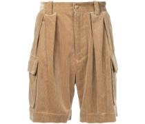 ribbed cargo shorts