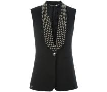 collar studded waistcoat