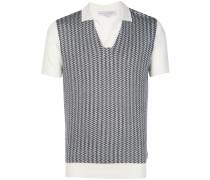 x Horton Gestricktes Poloshirt