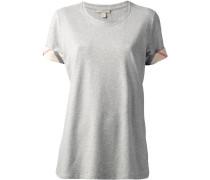T-Shirt mit karierten Details