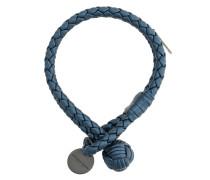 Armband aus Intrecciato-Lammleder