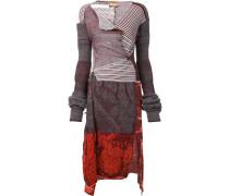Kleid mit Patchwork-Design