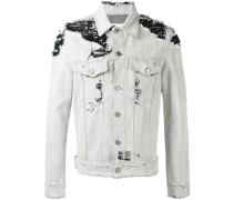 Jeansjacke in Distressed-Optik - men