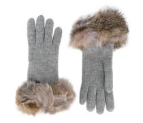 - Handschuhe mit Fuchspelzbesatz - women